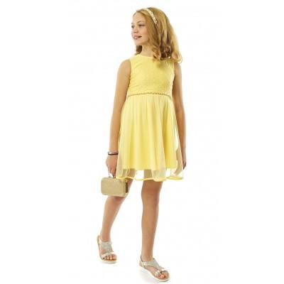 Φόρεμα κίτρινο (Μεγέθη:14)