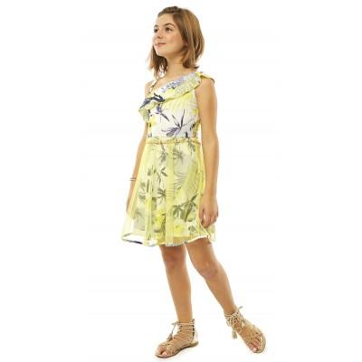 Φόρεμα εμπριμέ (Μεγέθη: 8,14)