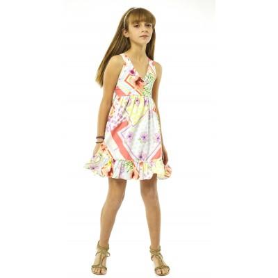 Φόρεμα εμπριμέ (Μεγέθη: 10,14)