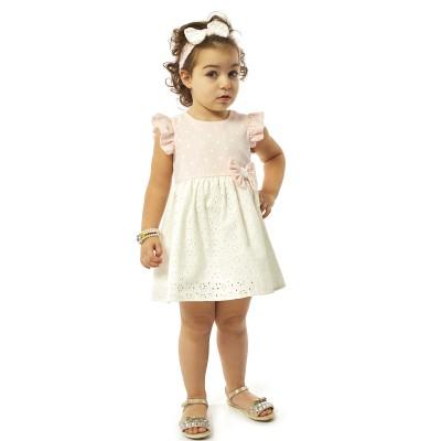Φόρεμα & κορδέλα (Μεγέθη: 9M,18Μ)