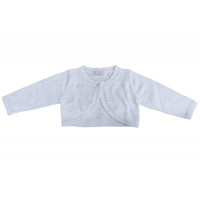 Ζακέτα λευκή (Μεγέθη: 12Μ)