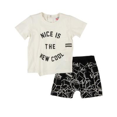 Σετ μπλούζα & βερμούδα/Nice is the new cool (Μεγέθη: 6Μ)