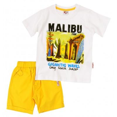 Σετ μπλούζα & βερμούδα/Malibu (Μεγέθη: 1,5)