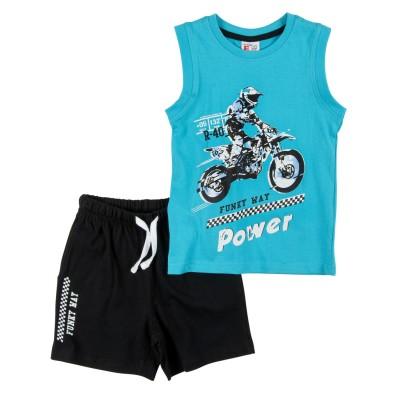 Σετ μπλούζα & βερμούδα/Power (Μεγέθη: 1,2,5)