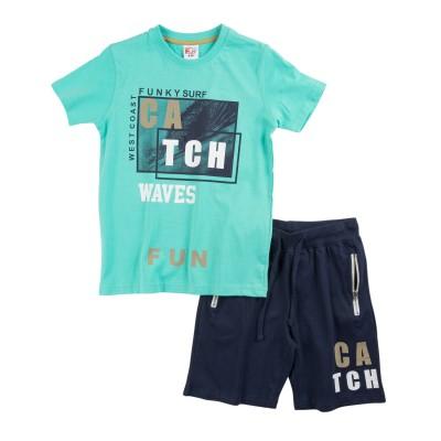 Σετ μπλούζα & βερμούδα/Catch (Μεγέθη: 8)