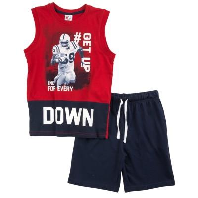 Σετ μπλούζα & βερμούδα/DOWN (Μεγέθη: 6)
