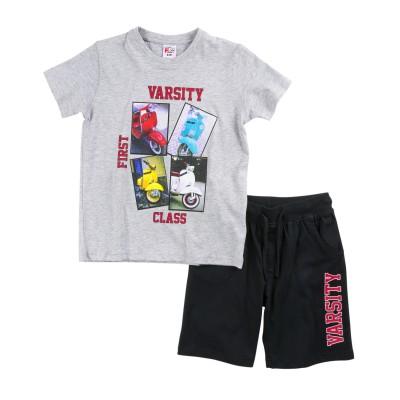 Σετ μπλούζα & βερμούδα/Varsity (Μεγέθη: 10)