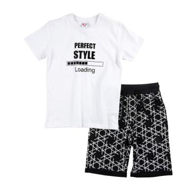 Σετ μπλούζα & βερμούδα/Perfect style (Μεγέθη: 6)