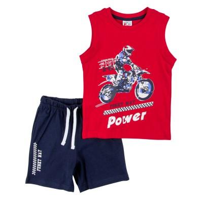 Σετ μπλούζα & βερμούδα/Power (Μεγέθη: 1,6)
