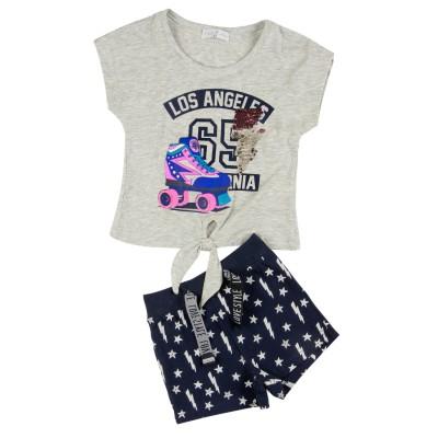 Σετ μπλούζα & σορτς/Los Angeles (Μεγέθη: 1,5,6)