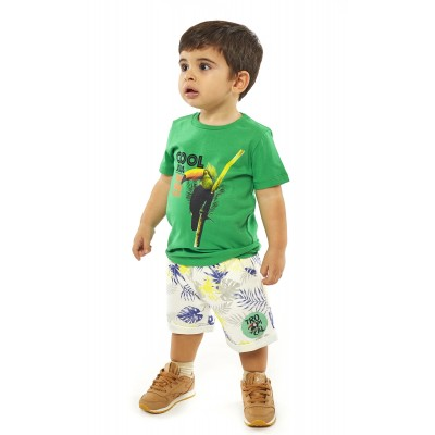 Σετ μπλουζάκι & βερμούδα/COOL (Μεγέθη: 6Μ,9Μ)