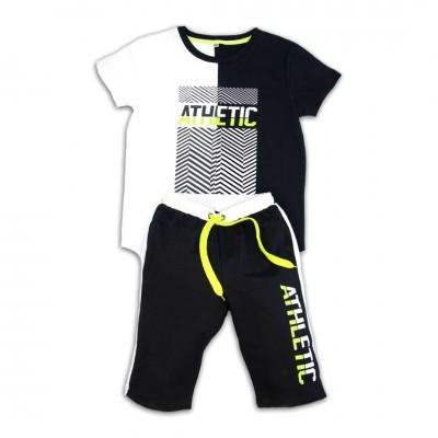 Σετ μπλούζα & βερμούδα/Athletic (Μεγέθη: 6)