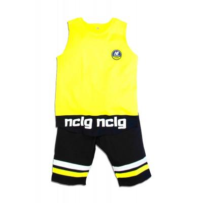 Σετ μπλούζα & βερμούδα/nclg (Μεγέθη: 6)