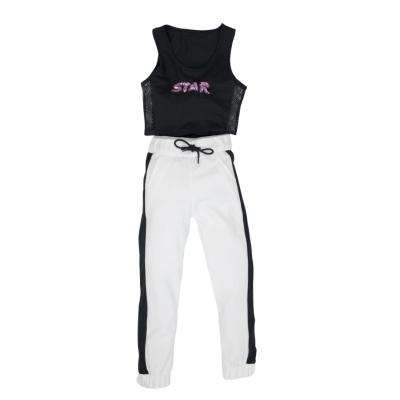 Σετ μπλούζα & παντελόνι φόρμας/STAR (Μεγέθη: 6)