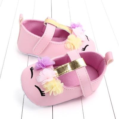 Παπούτσια αγκαλιάς ροζ Unicorn (Μεγέθη: 16,17,18)