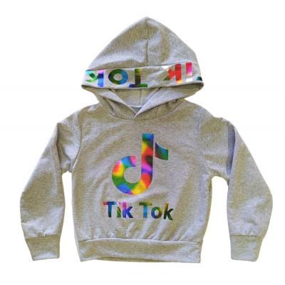 Μπλούζα με κουκούλα Tik Tok (Μεγέθη: 4,6)