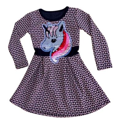 Φόρεμα με πούλιες Unicorn (Μεγέθη: 4,6,8,10,12)