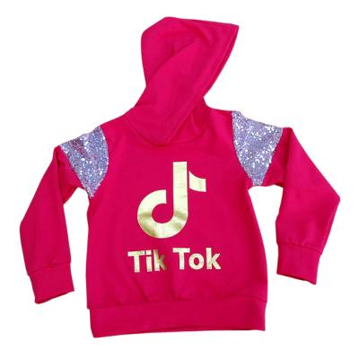 Μπλούζα με κουκούλα & πούλιες Tik Tok (Μεγέθη: 4,6,10)
