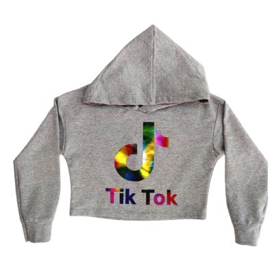 Μπλούζα με κουκούλα Tik Tok (Μεγέθη: 4,6,8,12,14)