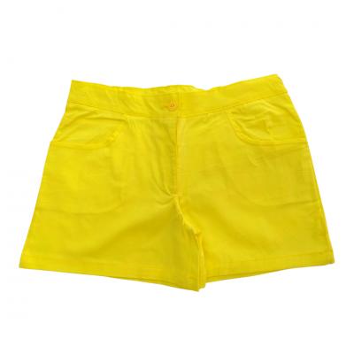 Σορτς σταθερό κίτρινο (Μεγέθη: 14)