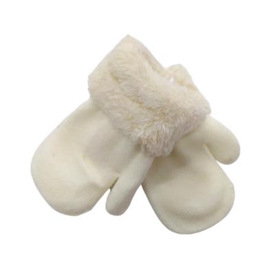 Γαντάκια-χουφτίτσες με γουνίτσα (6Μ-2 ετών)