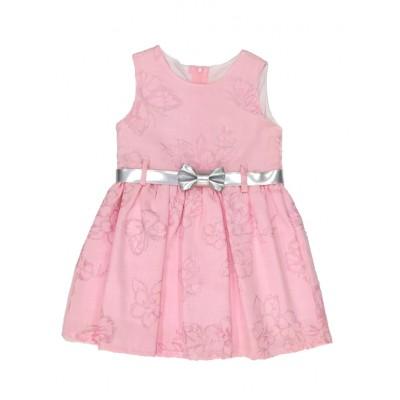 Φόρεμα με πεταλούδες & ζώνη (Μεγέθη: 4)