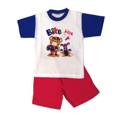 Πυτζάμα Αρκούδος Biker (Μεγέθη: 2,3)