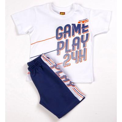 Σετ μπλούζα & βερμούδα/Game play (Μεγέθη: 1,4)