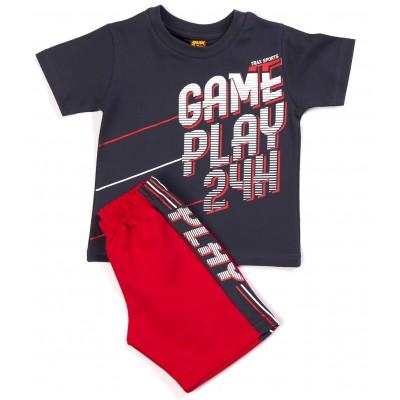 Σετ μπλούζα & βερμούδα/Game play (Μεγέθη: 1)