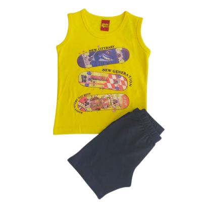 Σετ μπλούζα & βερμούδα/Skateboard (Μεγέθη: 1,3,4,5,6)