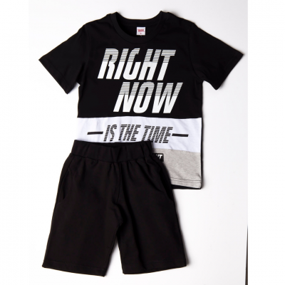 Σετ μπλούζα & βερμούδα/Right now (Μεγέθη: 6,10)