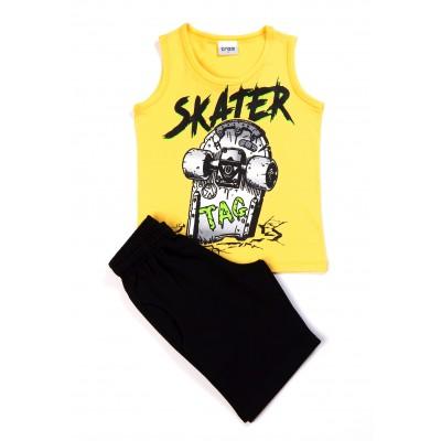 Σετ μπλούζα & βερμούδα/Scater (Μεγέθη: 6)