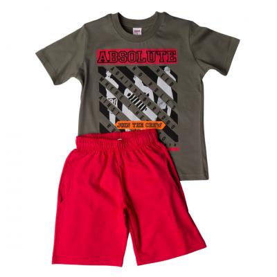 Σετ μπλούζα & βερμούδα/Absolute (Μεγέθη: 6)