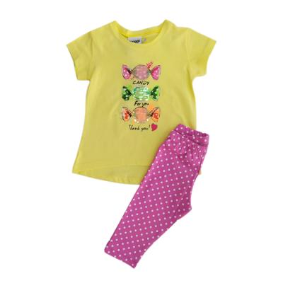Σετ μπλούζα & κολάν/Καραμελίτσες (Μεγέθη: 1,2)