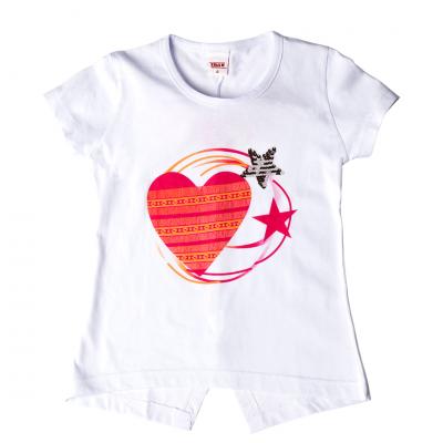 Μπλούζα-καρδιά (Μεγέθη: 6,8)
