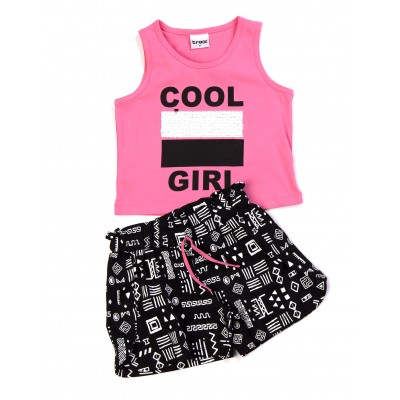 Μπλούζα & σορτς/Cool girl (Μεγέθη: 6,16)
