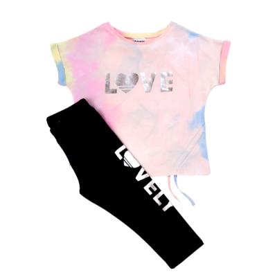 Μπλούζα & κολάν/LOVE (Μεγέθη: 6)