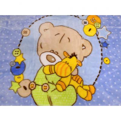 Κουβέρτα κούνιας-αρκουδάκι