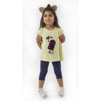 Μπλουζοφόρεμα με κολάν (Μεγέθη: 1)