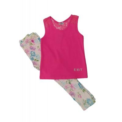 Σετ μπλούζα & παντελονοκολάν (Μεγέθη: 5)
