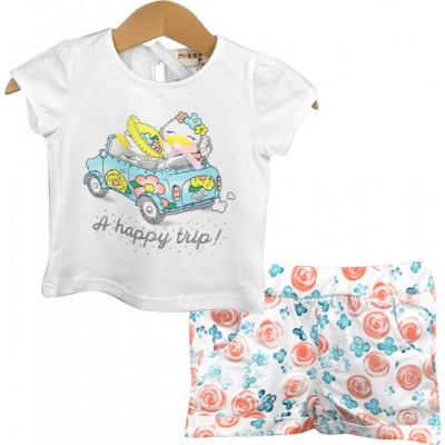 Σετ μπλουζάκι & σορτς (Μεγέθη: 12Μ)
