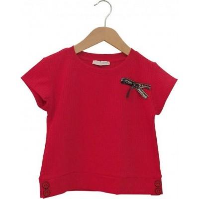 Μπλούζα τοπ με φιογκάκι (Μεγέθη: 6,8,10,12,14,16)