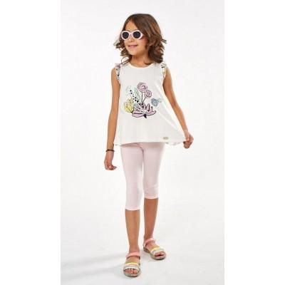 Σετ μπλουζοφόρεμα & κολάν και πλάτη με σχέδιο (Μεγέθη: 1,2,6)