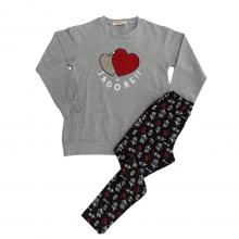 Σετ μπλούζα & κολάν/J'adore (Μεγέθη: 6,8,10,12,14,16)