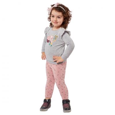Σετ μπλούζα & κολάν Εβίτα (Μεγέθη: 6Μ,9Μ,12Μ,18Μ,24Μ)