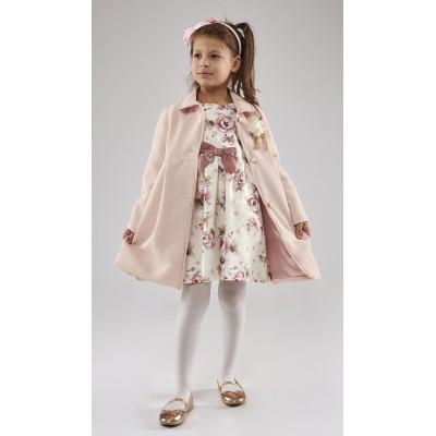 Σετ Παλτό & Φόρεμα εμπριμέ (Μεγέθη: 1)
