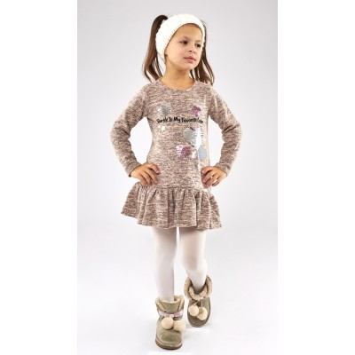 Φόρεμα με πούλιες/Favorite Color (Μεγέθη: 1,2,4,6)