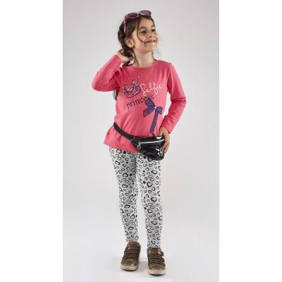 Σετ μπλούζα & κολάν Princess (Μεγέθη: 1,2,3,4,5,6)