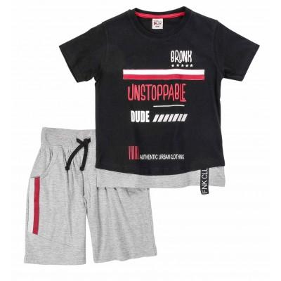 Σετ μπλούζα & βερμούδα/Unstoppable (Μεγέθη: 6,10)