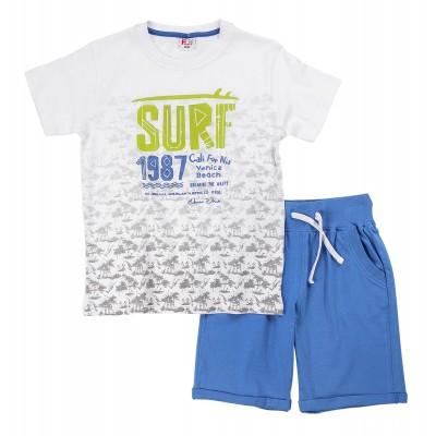Σετ μπλούζα & βερμούδα/Surf (Μεγέθη: 6,8,10,12,14)